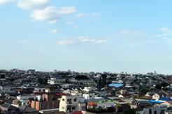 天気がいいと筑波連峰が見渡せます